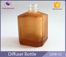 New Arrival square 150ml frosted diffuser bottle
