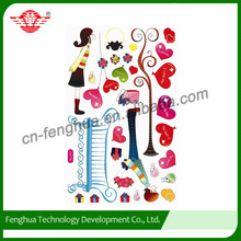Customized Floor Wall Environmental protection New Wall Stickers Home Decor 2015