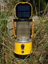 Taida SL-601 LED USB socket output solar camping lantern lamp