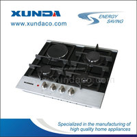 cooker gas 4 burners oven grill