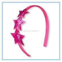 Cute Glitter Stars Headband Hair Band Hair Accessories for Baby Girls