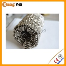 Coating NI magnet ball neo cube to design