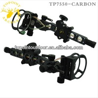 Topoint Archery,7 Pin Bow sights,TP7570-CAMO,Micro adjust,detachable bracket,carbon version