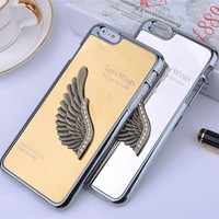 Luxury Mirror PC Metal Electroplating Case For iPhone 6,For Apple i Phone