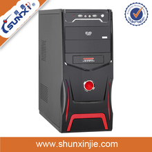 Fashion Model wholesale oem ATX computer casing with cooling fan and audio SX-C3073