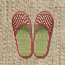 cool comfortable straw summer hotel slippers