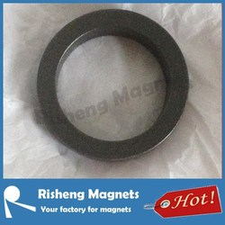 PTFE coated D52 x d42 x 10mm diametrically magnetized multipole ring magnet
