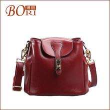 leather korean style hobo bag genuine leather handbags guangzhou