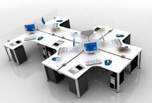 HL 3009 Modular Office Furniture Workstation/ Table/ Laptop