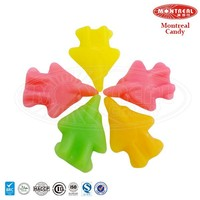 Fruity chewy sweets plane shape gummy candy
