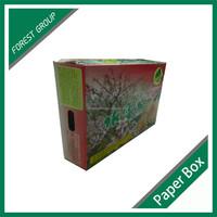 FRUIT CARTON BOX APPLE FOR GIFT PACKAGING BOX