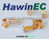 ISO9001silver alloy electrical contacts and silver alloy copper rivet.