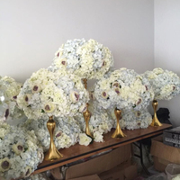 hot sell wedding wholesale artificial hydrangea flower centerpieces