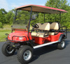 Electric lifted cart, 6 seats, CE approved,DOT,LSV, EG2040ASZ