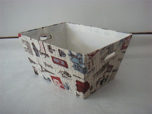New products fancy magazine storage boxes