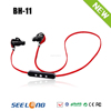 Fashion stereo wireless headset microphone wireless bluetooth headset with Vimicro chipest V4.1