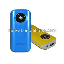 promotion 5600mAh portable battery charger backup travel pocket power stick