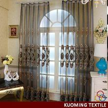 New style classical hot sell ready made sheer curtains