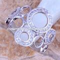 de la boda de la moda anillo de servilleta gay anillos de compromiso de joyería