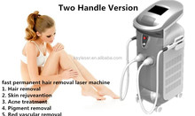 Safe and effective vertical OPT SHR&SHR beauty equipment hair removal equipment&machine with CE