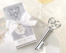 key Bottle opener wedding gift key shape wedding return gift party return gift wine opener