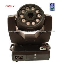 Etapa 1600w Efecto Niebla máquina principal móvil de la máquina de humo con 8WX10