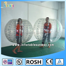 High quality outdoor sport games inflatable clear human bumper balls for kids and adults wholesale