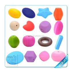 Custom Food Grade Silicone Rubber Teething Beads Wholesale In China Alibaba