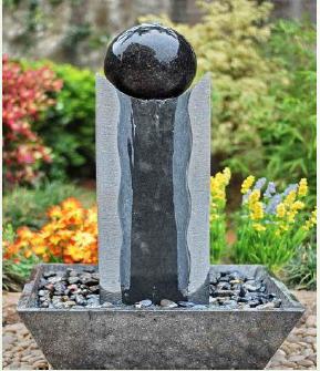 forme d 39 oeuf petite pierre fontaine d 39 eau vente pour jardin d coration produits en pierre jardin. Black Bedroom Furniture Sets. Home Design Ideas