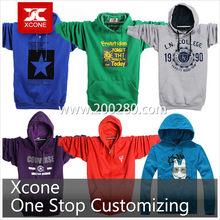 High Quality Fleece Hoodies Custom Kangaroo Pocket Hoodies with Your Own Design Cotton Pullover Hoodie Crewneck sweatershirt
