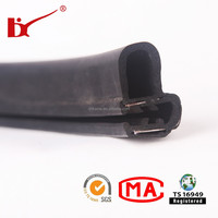 Extrusion EPDM Rubber Silicone Sealing Strip for vehicle