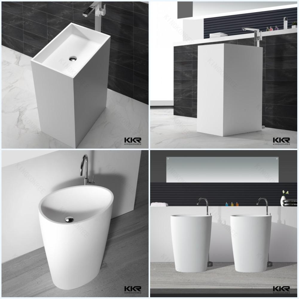 Badkamer stenen wastafel - Kleine ijdelheid ...