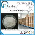 China venta caliente y el precio bajo de guanidina tiocianato amoniocas. 593-84-0