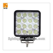 48w Epistar 12v 24v work light led with EMC for trucks boats SUV ATV 48w led worklights