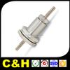 plastic brass aluminum steel cnc turning lathe part