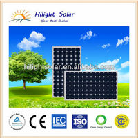 A class solar cell panel/solar panel 300W monocrystalline pv solar module price for South Africa, Nigeria, and Pakistan
