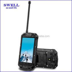 SWELL waterproof snopow M8 phone PTT NFC rugged smart phone MTK