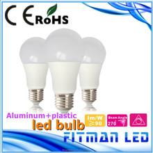 intergrated body led bulb aluminium body and PTB led light bulb 9w 12w led bulb light saving energy