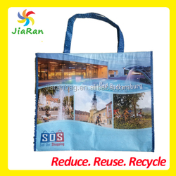 SOS RPET Bags Made From Recycled Plastic Bottles