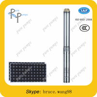 6LPM 24 volt solar submersible water pump/solar powered water pump/bore well centrifugal submersible pump