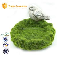 2015 garden emulational grass pet food plate decorative bird feeder