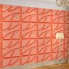 indoor decoration material embossed design wallpaper for home decor
