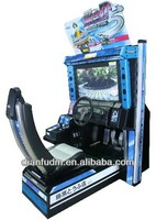 Electronic driving car game machine - Initial D Arcade stage 5