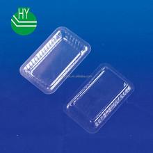 small clear plastic seaweed/dessert tray