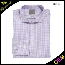 New arrival wholesale top quality casual banded collar shirts for men