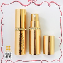 European adorable glitter Jewel style perfume shimmering hair spray