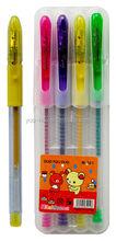 Multi color glitter gel pen YHGM501