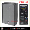 Pro Audio plastic molded Speakers Cabinet with Bluetooth PQH-15A