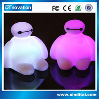 Glow in the dark inflatable animal toys for kids