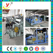 Perfect after-sales machine manfacture/chute feed carding machine/double cylinder double doffer carding system